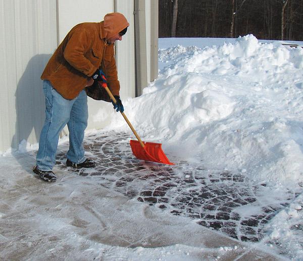 Winter Problems With Decorative Concrete