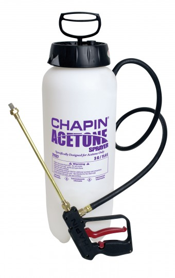Acetone Sprayer With Dripless Shut-off - 3 Gallon