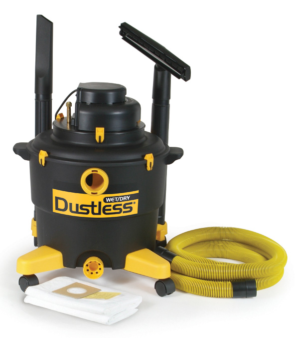 Dustless Wet/Dry Vac