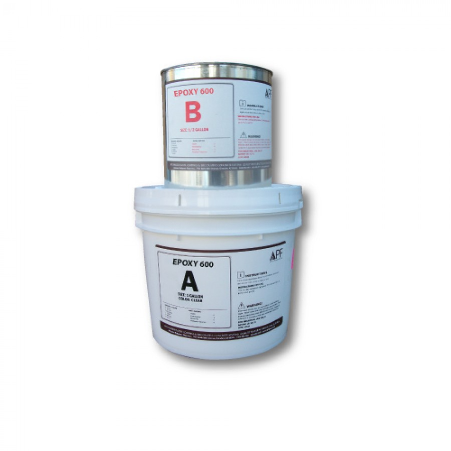 APF Epoxy 600-1.5 Gallon Kit