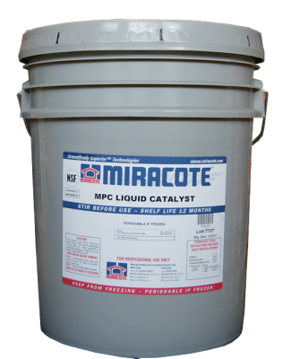 Miracote MPC Liquid Catalyst-5 Gallon