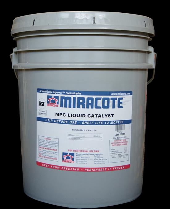 Miracote MPC Liquid Catalyst-5 Gallon