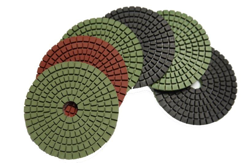 "7"" Diamond Polishing Pad"
