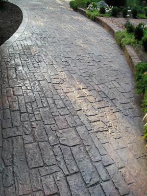 Random Cobblestone Concrete Texturing Com
