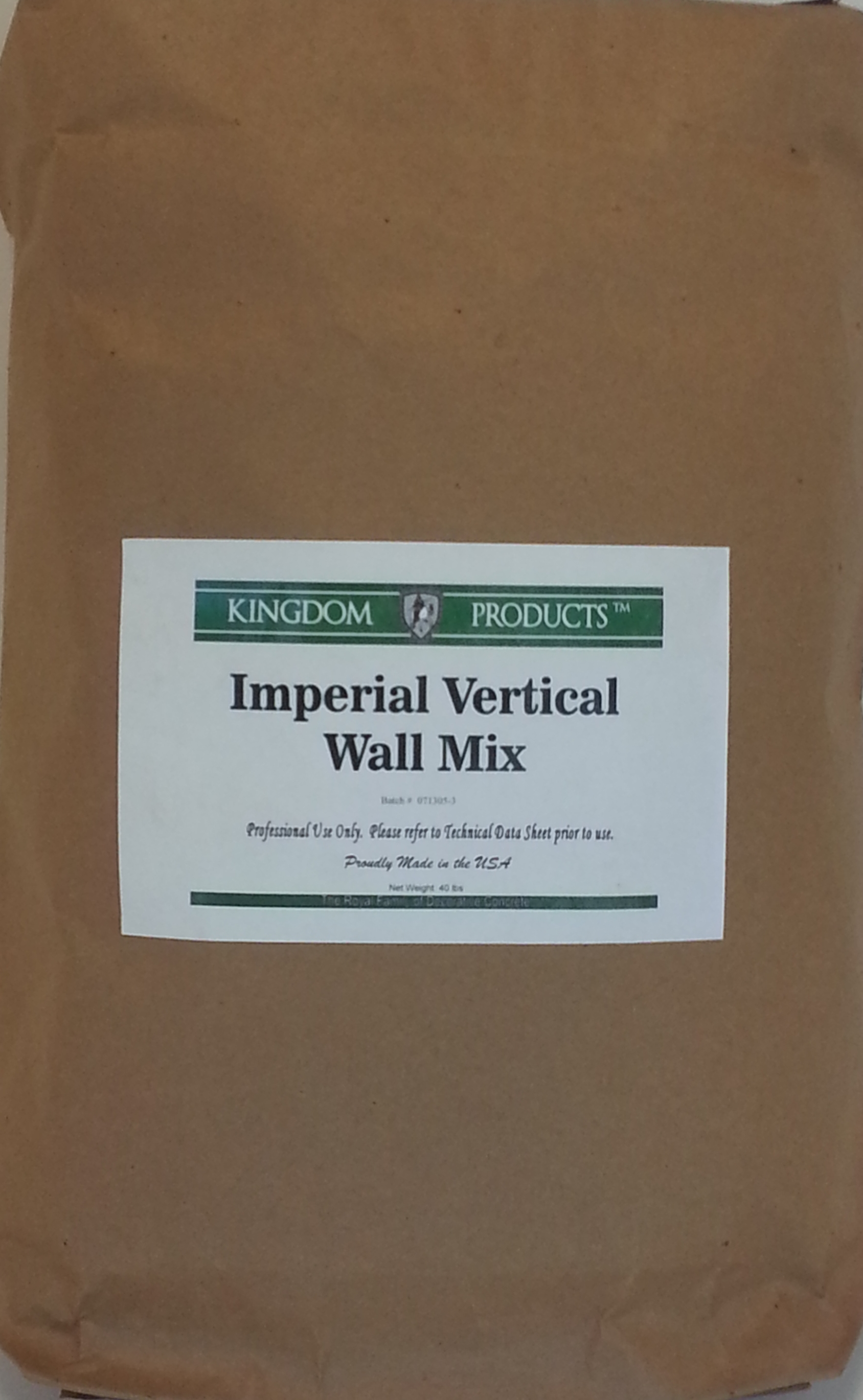 Imperial Vertical Wall Mix Concrete Texturing Com