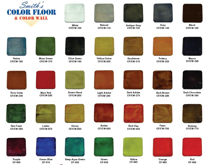 Smith S Color Floor Concrete Stain