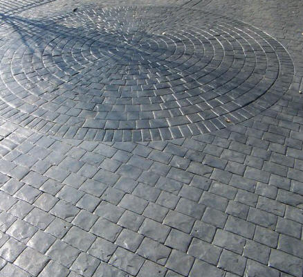 London Cobble Concrete Texturing Com