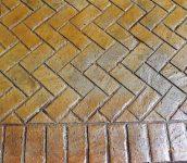 New Brick Herringbone Close
