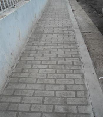 New Brick Running Bond Concrete Texturing Com