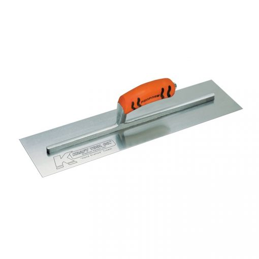 "Kraft Tool-18""x4-1/2"" Cement Trowel w/ProForm® Handle"