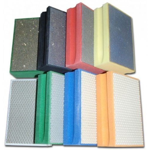 Diamond Hand Polishing Pads