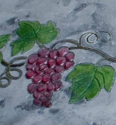 Matcrete Grapevine Rose Border