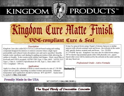Kingdom Cure Matte Finish (ATSMC-1315)