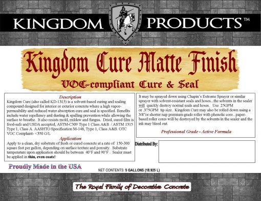 Kingdom Cure Matte Finish (ATSMC-1315)