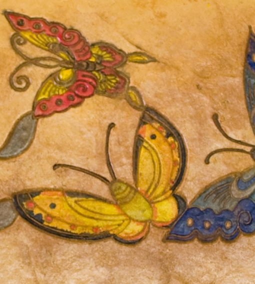 Matcrete Large Butterflies Border