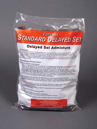 Fritz-Pak Standard Delay Set Concrete Additive