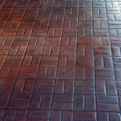 New Brick Basket Weave Concrete Texturing Com